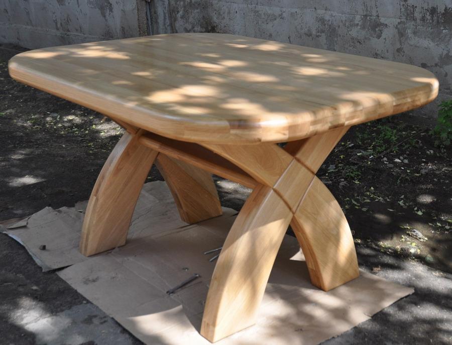 Изготовление столов из массива своими руками.